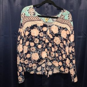 True craft boho blouse